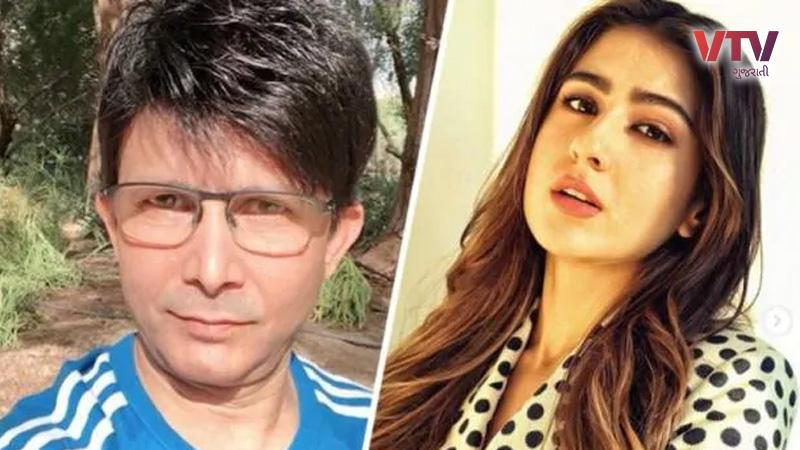 krk troll sara ali khan for her Instagram post