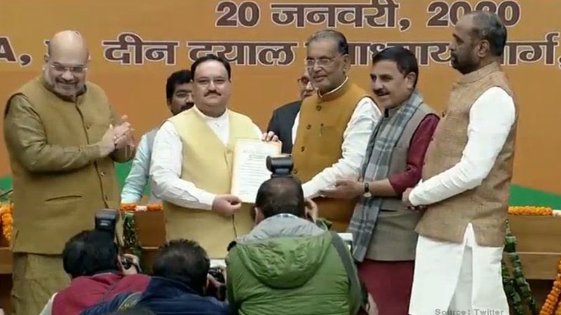 rise and rise of jagat prakash nadda why convent educated rss mans elevation was always on the cards