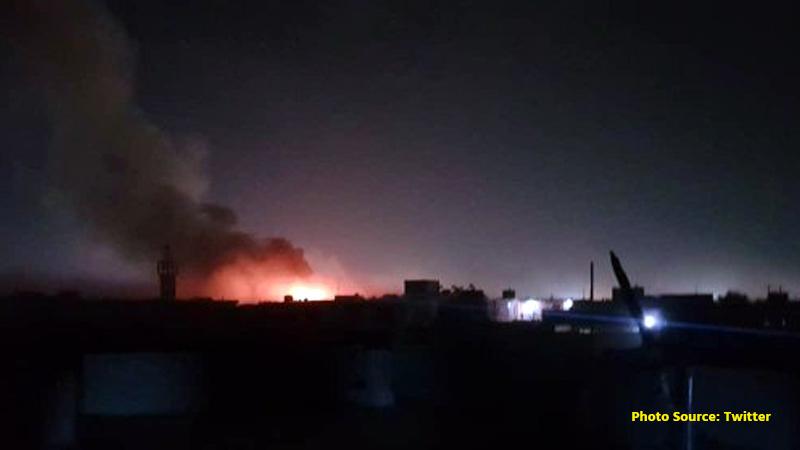 Taliban claim blast in Afghan capital as draft peace deal agreed