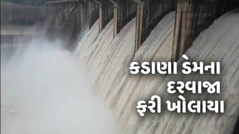Kadana Dam Mahi River NDRF alert Mahisagar Gujarat