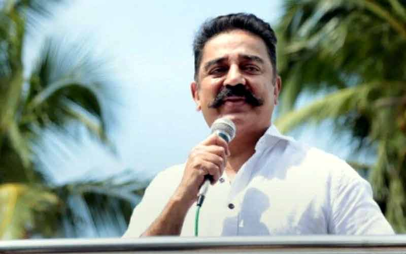 Slippers Thrown At Kamal Haasan Amid Controversy Over Godse Remark