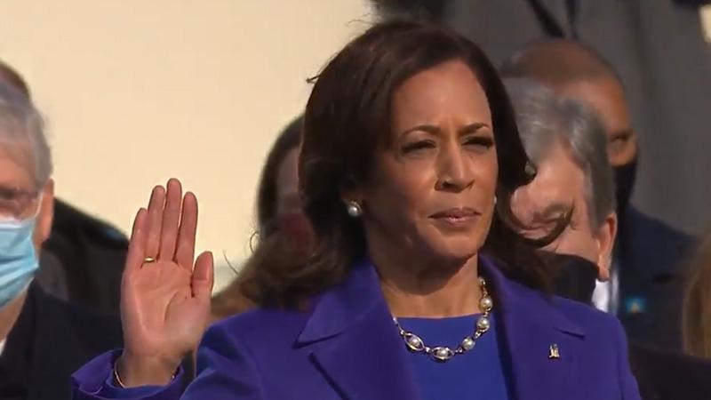 kamala harris first woman vise president in america united states