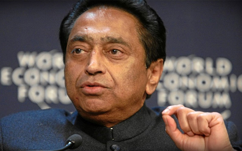 lok sabha elections 2019 cm kamalnath led congress government in madhya pradesh is in minority say bjp in letter to governor