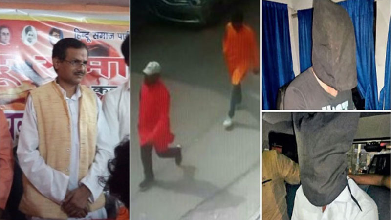 kamlesh tiwari murder case 3 detained from surat by police lucknow