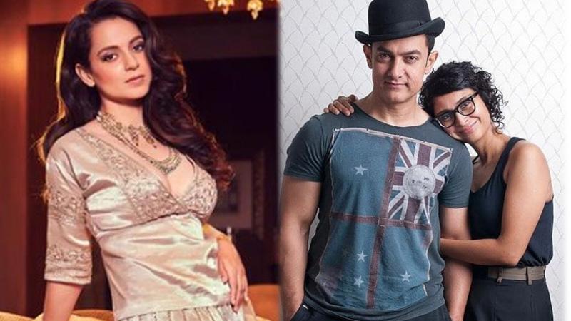 Kangana Ranauts post on Aamir Khans divorce is going viral,asked a big question