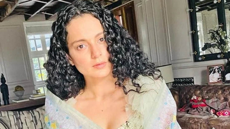 kangana shiv sena controversy actress in trouble new tweet