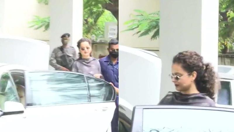 kangana ranaut leaves mumbai heading to manali bmc office demolition