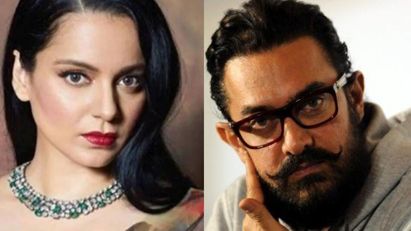 kangana Ranaut Team Shares An Old Interview Of Aamir Khan And Questioned The Actor On His Take On Secularism