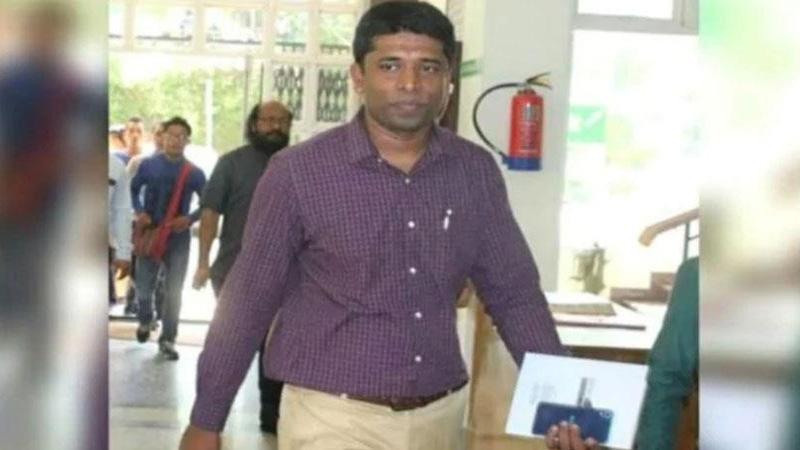 Former IAS detained Kannan Gopinathan