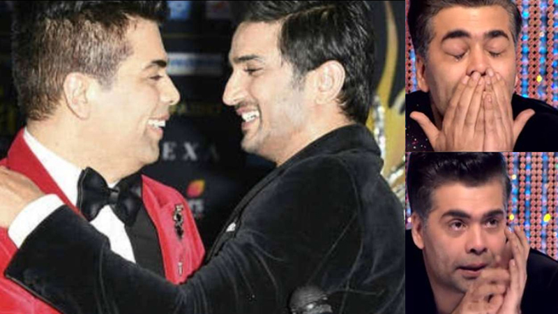Karan Johar keep crying after Sushant Singh Rajput suicide and social media trolling, Nepotism