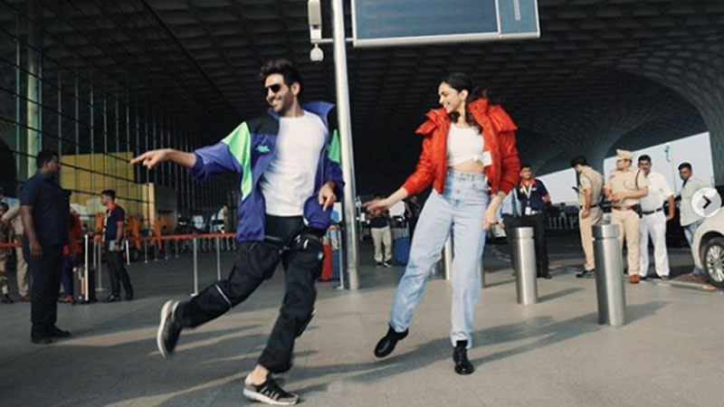 Deepika Padukone and Kartik Aaryan get brutally trolled for dance at the airport