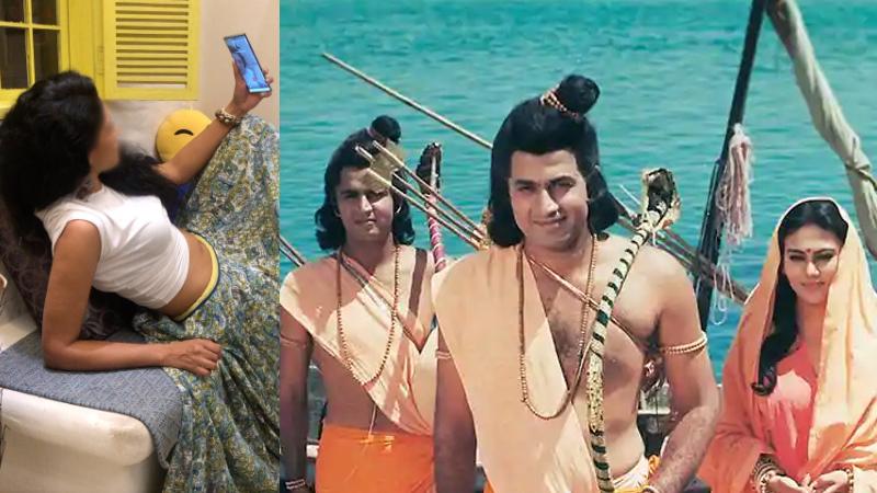 kavita kaushik mocks people for watching ramayan during epidemic calls them stupid and selfish