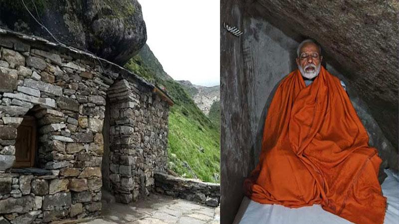 narendra modi meditation kedarnath cave house full tickets october uttarakhand