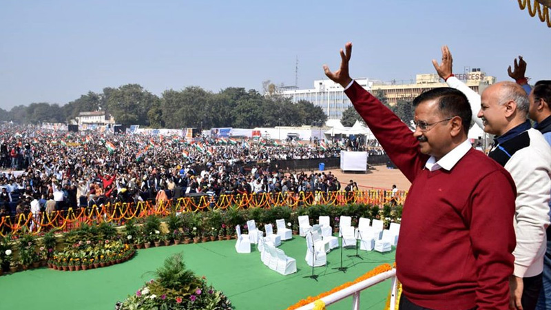 Aam aadmi party delhi cm arvind kejriwal new mission india