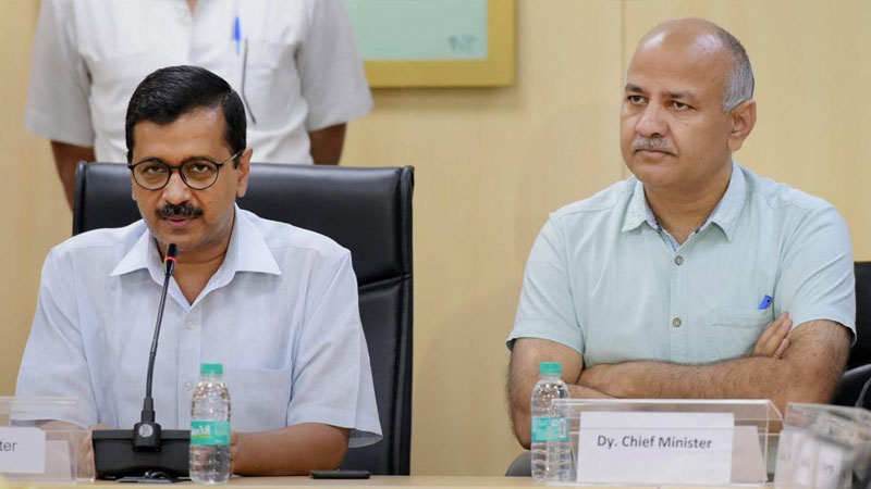 case of misuse of government money kejriwal and sisodia get relief from court
