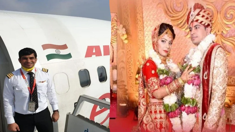 kozhikode plane crash co pilot akhilesh kumar cremated in hometown mathura pregnant wife finally told he is no more