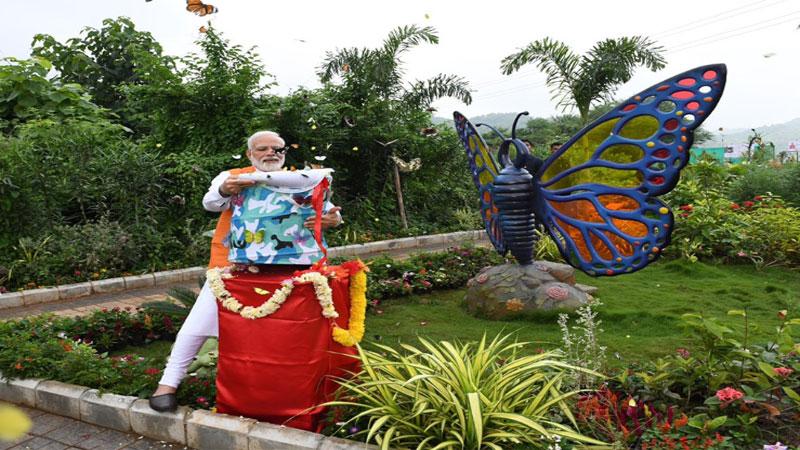 kevadia colony name ekta nagari eco friendly tourist spot
