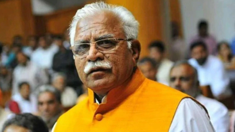 rti reveals no papers with haryana government on cm citizenship manohar lal khattar