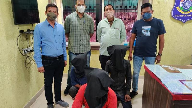 Three persons killed young man thasra dabhasar canal kheda