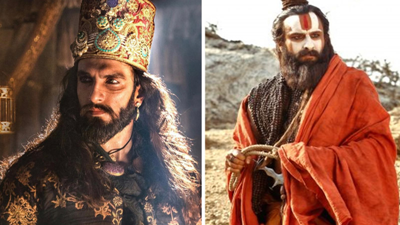 darshan yewalekar prepare look for saif ali khan in lal kaptaan ranveer singh as khilji in padmavat