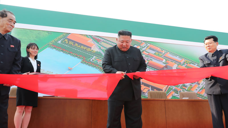 north korea s leader kim jong un  first public appearance in nearly three weeks