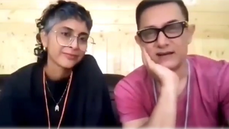 Aamir Khan-Kiran Rao Release Video Message A Day After Announcing Separation We Are Happy Still One Family