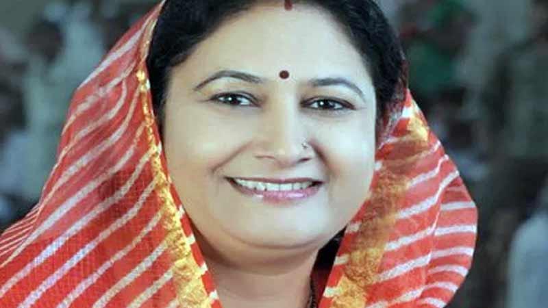 Rajsamand MLA Kiran Maheshwari passes away in Gurugram