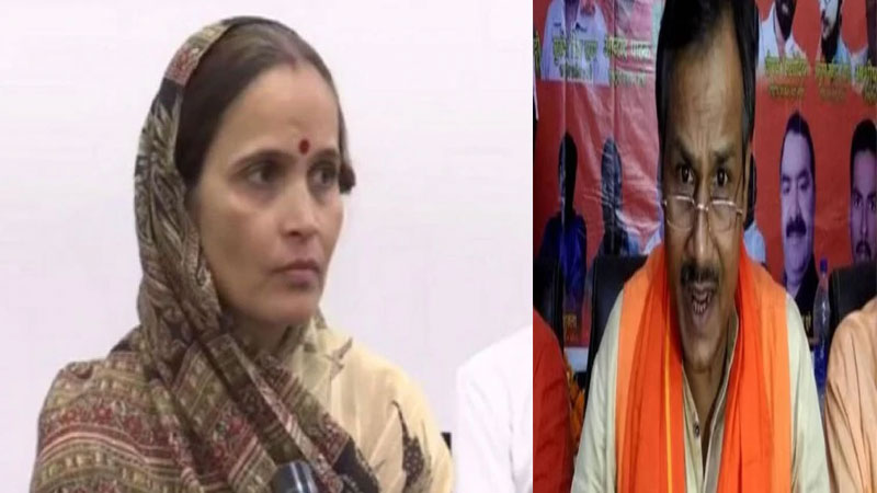 Kamlesh Tiwari's wife got 15 lakhs and said, 'If a BJP leader gets killed, I will pay Rs. 30 lakhs