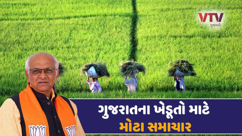 Gujarat farmers may get good news soon, see what is the plan of Bhupendra Patel government