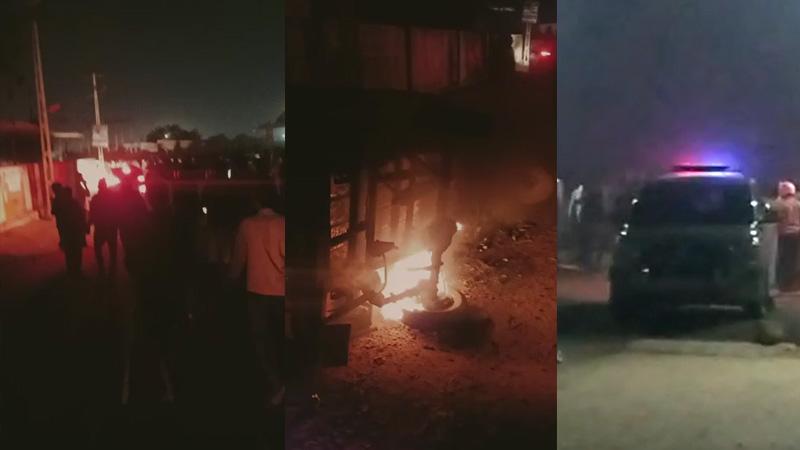 Ram Mandir fund rally group clash Kidana Gandhidham mundra kutch