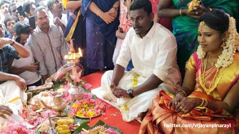 Hindu Couple Got Married In Mosque In Kerala