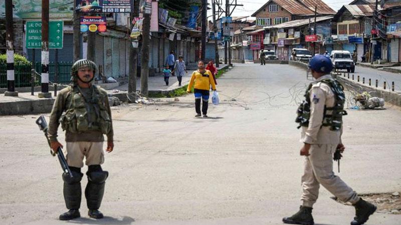 barricades removed at lal chowk srinagar