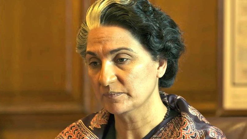 Bellbottom Lara Dutta unrecognisable in Prime Minister look fans says makeup artist should receive national award