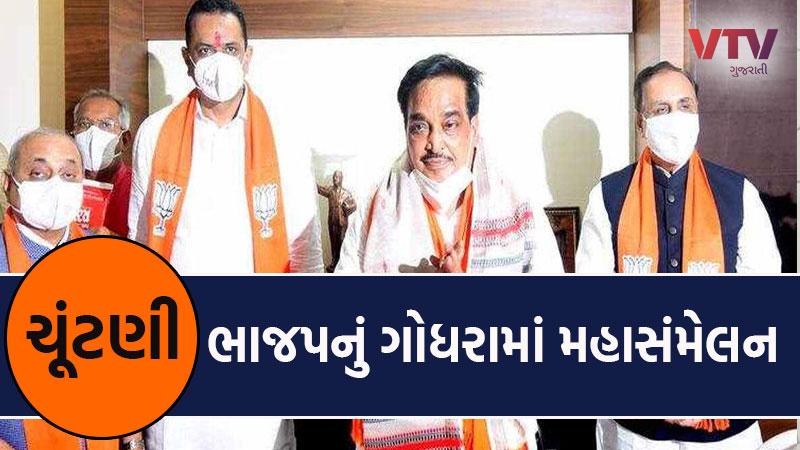 local body Election 2021 BJP 400 sarpanch direct talk cm rupani c r patil