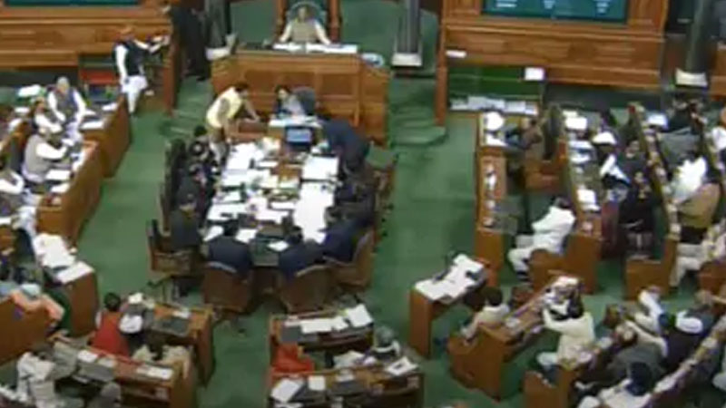 parliament winter session day 17 lok sabha rajya sabha update