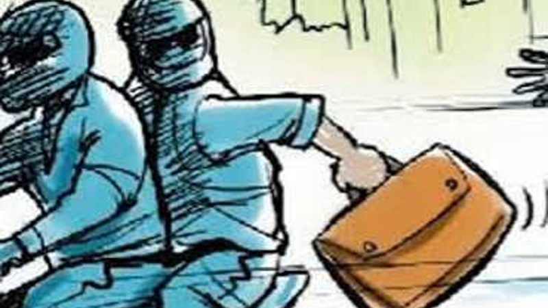 Crime News Dahod chilli powder in eyes and loot case