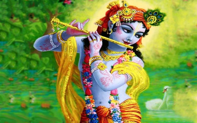 Kubja became a Sundari in the touch of Krishna