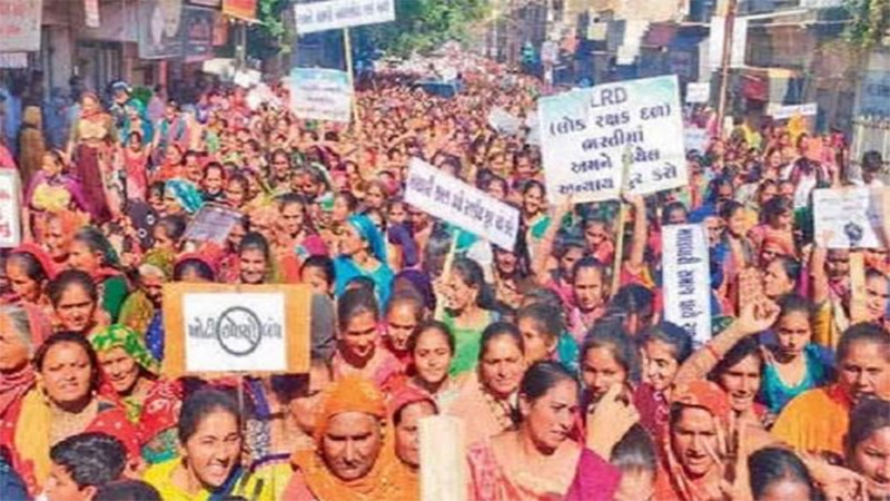 LRD recruitment woman candidate petition in Gujarat high court