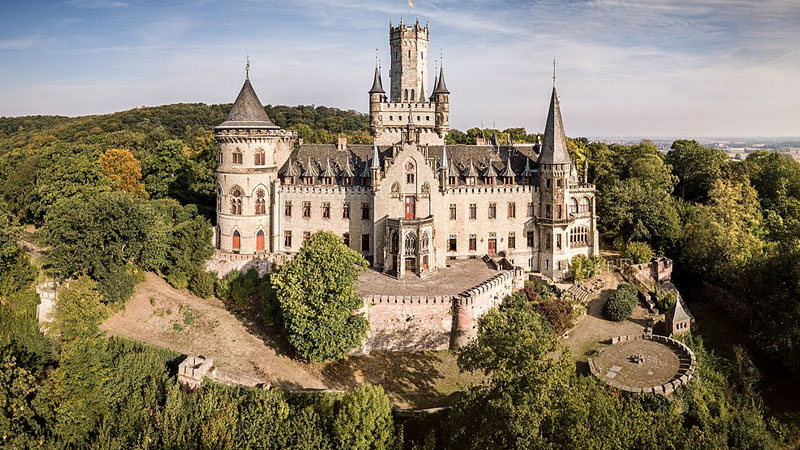 son sells 135 rooms castle to government for just 1 euro