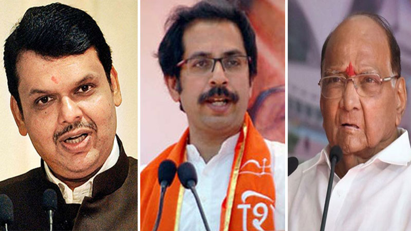 maharashtra assembly elections bjp shiv sena alliance may form government again in maharashtra says abp and c voter opinion...