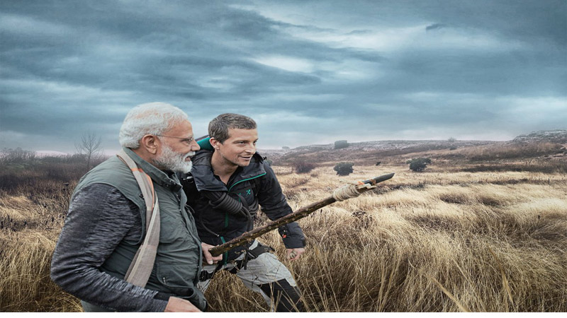 Man Vs Wild: Bear Grylls Reveals Similarity Between Narendra Modi & Barack Obama