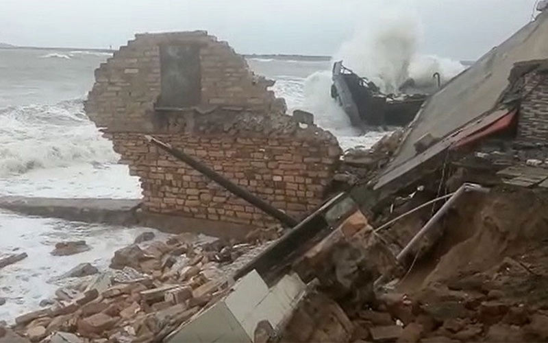 Cyclone Vayu porbandar saurastra