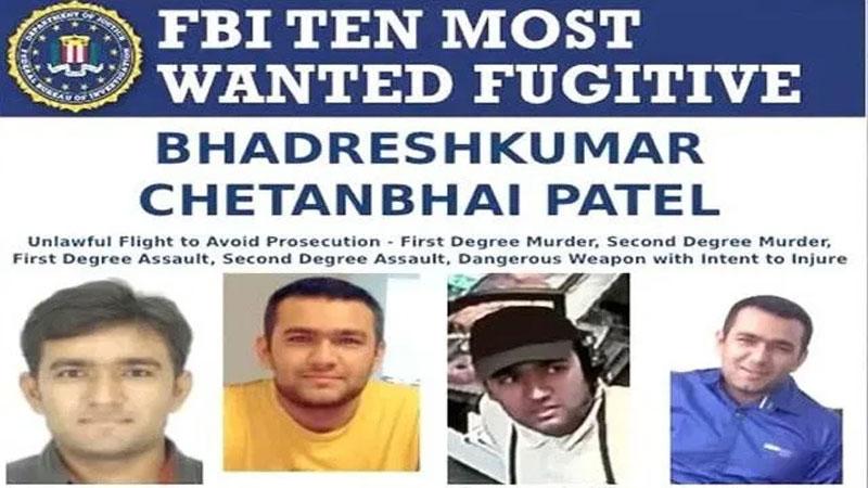 gujarati in fbi top 10 most wanted list