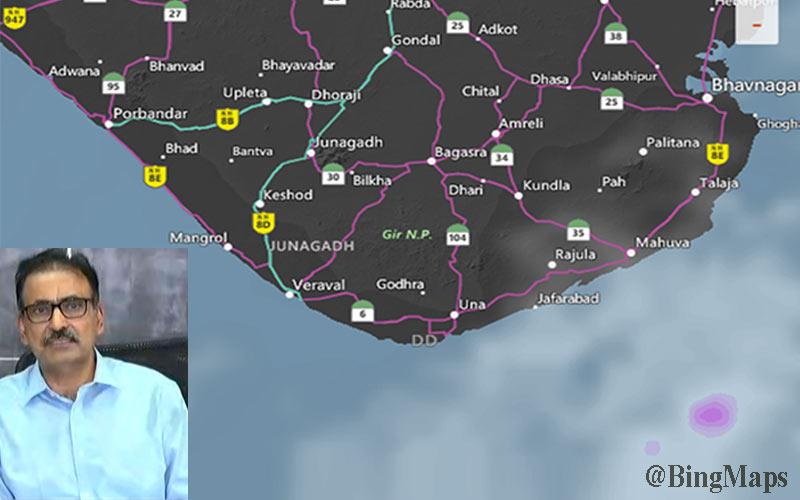 Revenue Department Pankaj Kumar Saurashtra-Kutch thunderstorm gujarat
