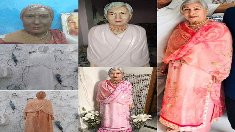 Chandigarh: Death from wife's cancer, husband created statue of marble