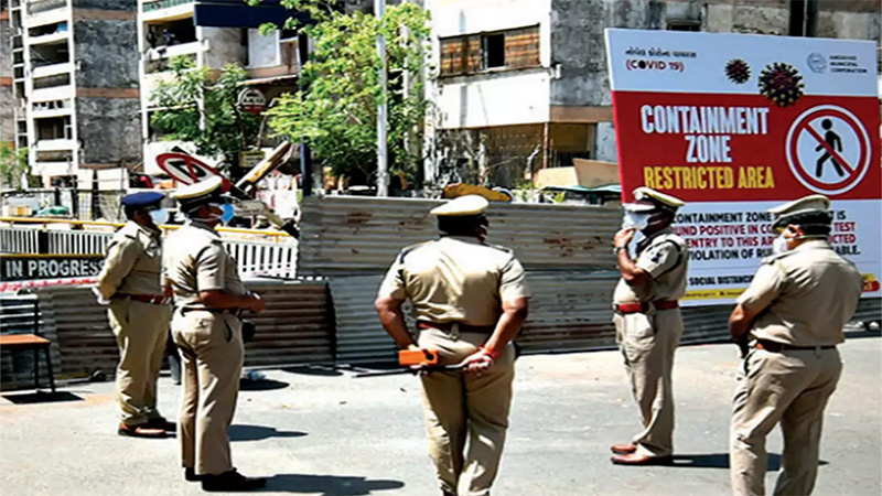 yout not wearing mask and fight with police in Ahmedabad
