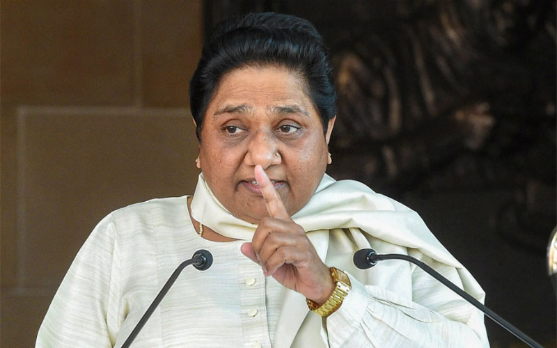 mayawati shows her interest to become pm