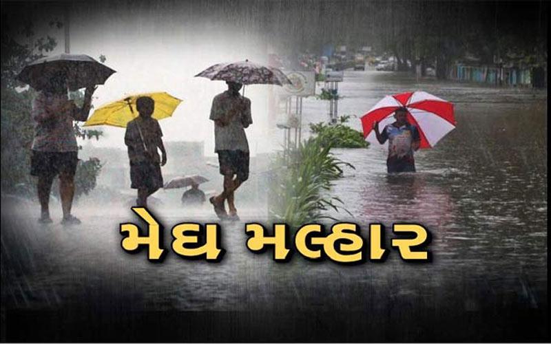 Heavy rain in Gujarat