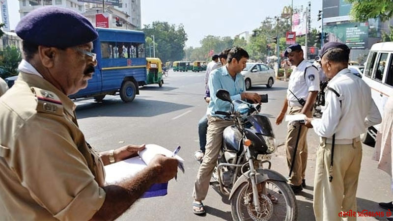 He went to the policeman to get Garba's pass and came back fine