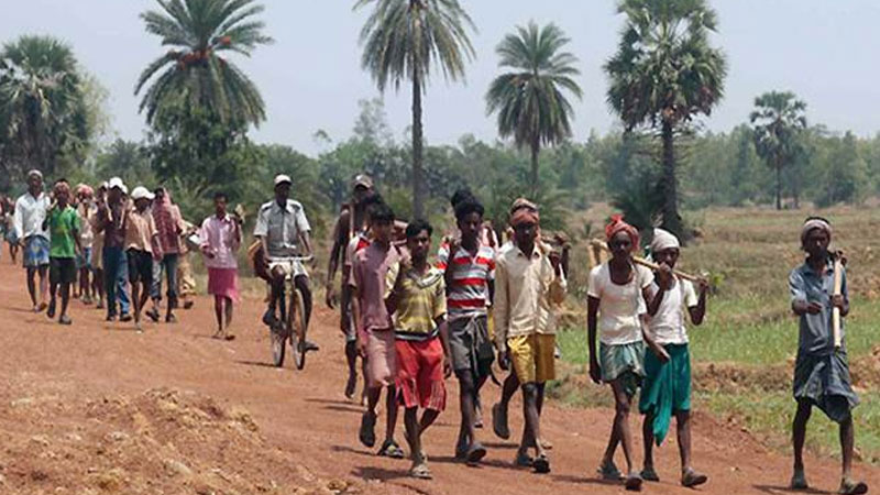 youth forced to become laborers after gst and demonetisation number of laborers of 18 30 years increased in mnrega